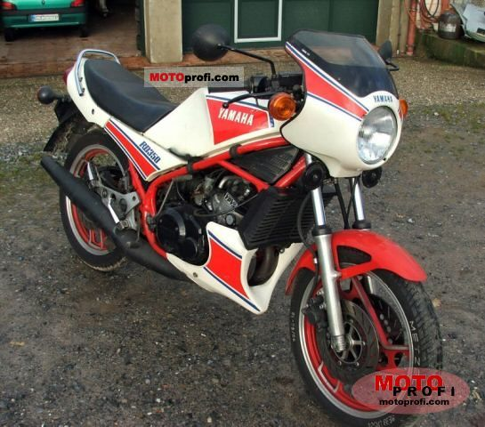 yamaha rd 350 lc ypvs 1983 specs and photos. Black Bedroom Furniture Sets. Home Design Ideas