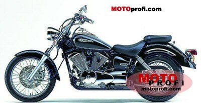yamaha xvs 250 drag star 2003 specs and photos. Black Bedroom Furniture Sets. Home Design Ideas