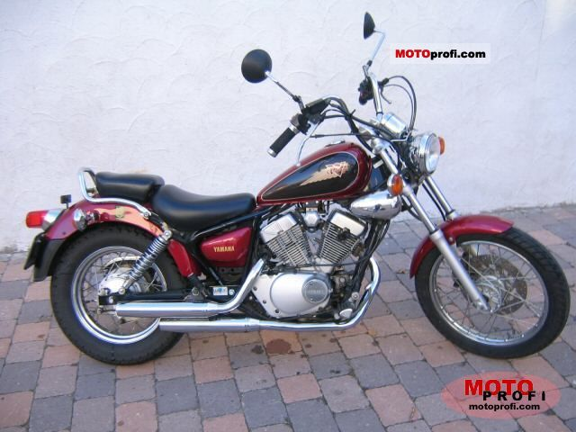 yamaha xv 125 virago 1998 specs and photos. Black Bedroom Furniture Sets. Home Design Ideas