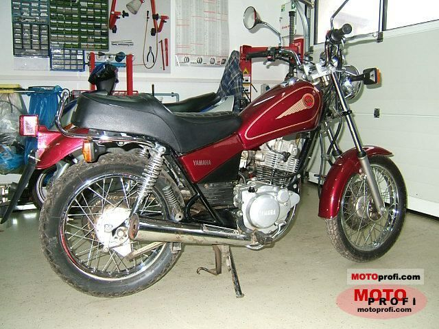 yamaha sr 125 2001 specs and photos. Black Bedroom Furniture Sets. Home Design Ideas