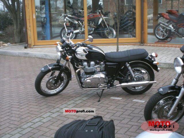 Triumph Bonneville T 100 2005 Specs And Photos