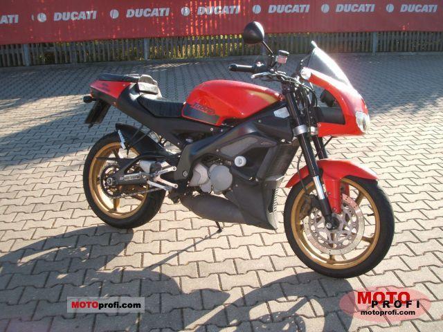 aprilia 125 rs. Aprilia RS 125 Tuono 2003