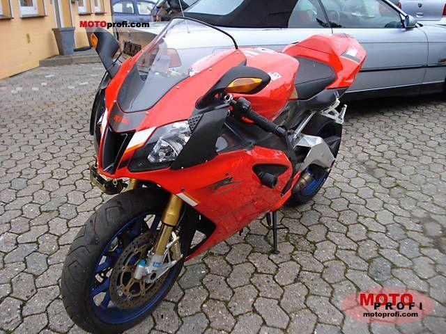 Aprilia Rsv. Aprilia RSV Mille 1000 R
