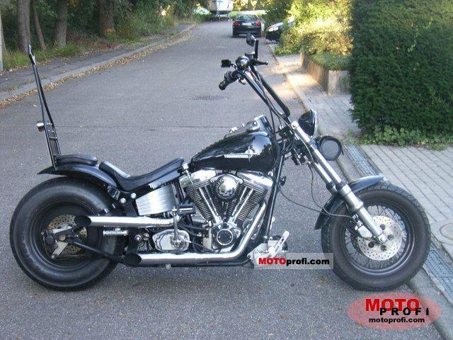 Harley-Davidson Softail Custom 1998 photo