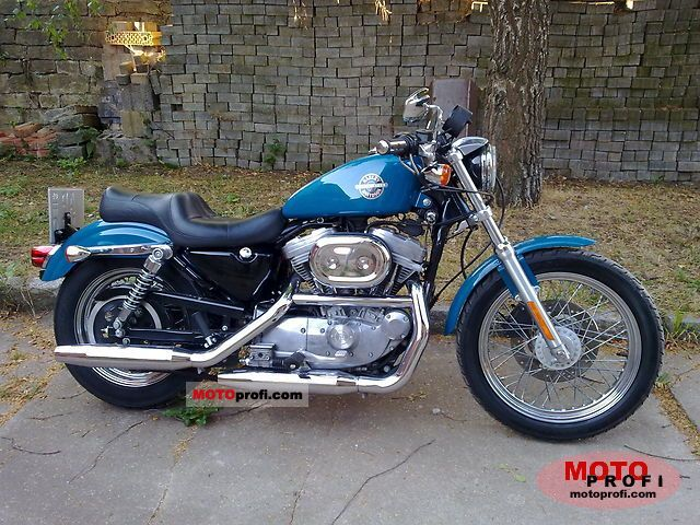 Harley-Davidson XLH Sportster 883 2002 photo