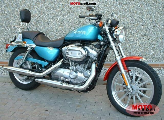 harley davidson xl 883 sportster 2004 specs and photos. Black Bedroom Furniture Sets. Home Design Ideas