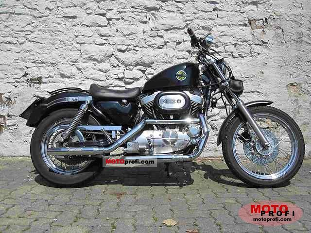 Harley-Davidson XLH Sportster 1200 1990 photo