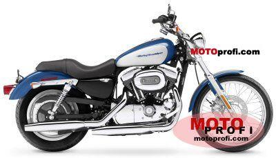 Harley-Davidson XL 1200 C Sportster Custom 2005 Specs and Photos