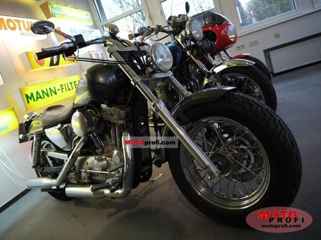 Harley-Davidson 1200 Sportster Custom 1998 photo