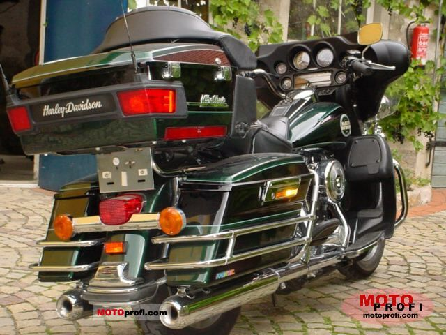 Harley Davidson Ultra Clic Electra Glide 1996 Photo 3 Click To Enlarge