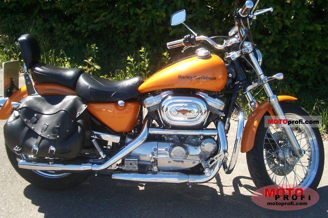 Harley Davidson 883 Sportster Hugger 1997 Specs And Photos