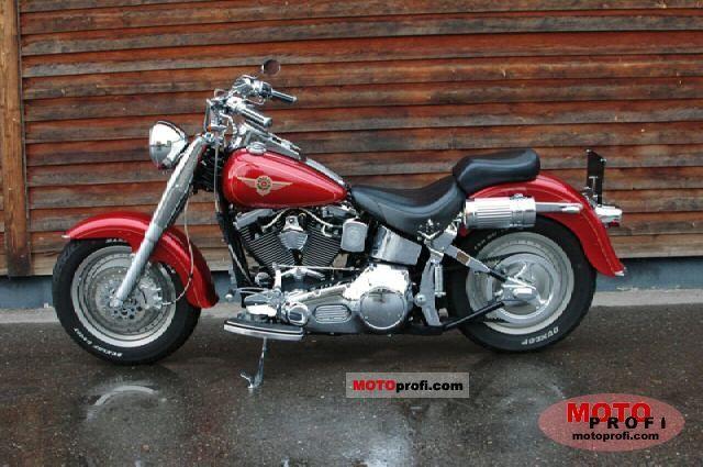 Harley Davidson FLSTF Fat Boy 1999 Photo 4