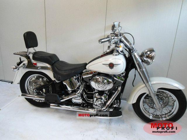 Harley-Davidson FLSTF Fat Boy 2002 photo