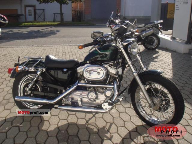 Harley-Davidson Sportster 883 Hugger 1996 photo