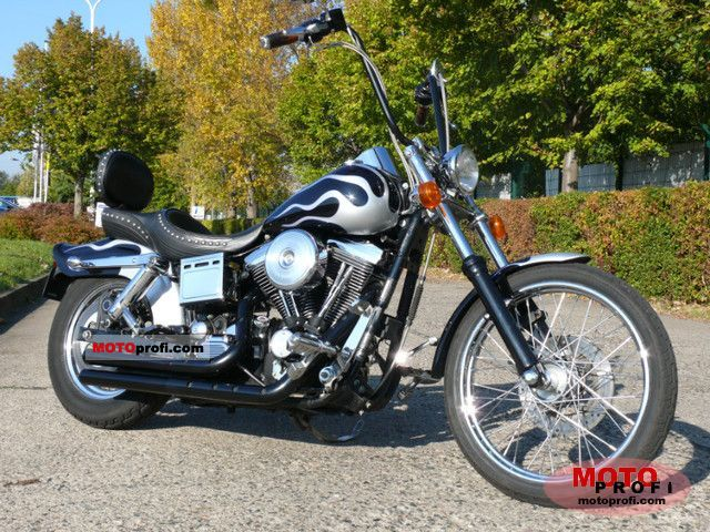 Harley-Davidson Dyna Wide Glide 1996 photo