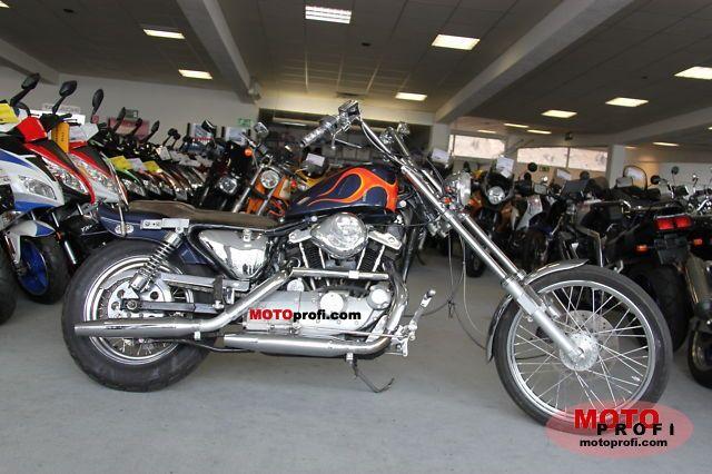 Harley-Davidson XLH 1000 Sportster 1985 photo