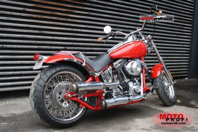 Harley-Davidson FXSTD Softail Deuce 2002 photo
