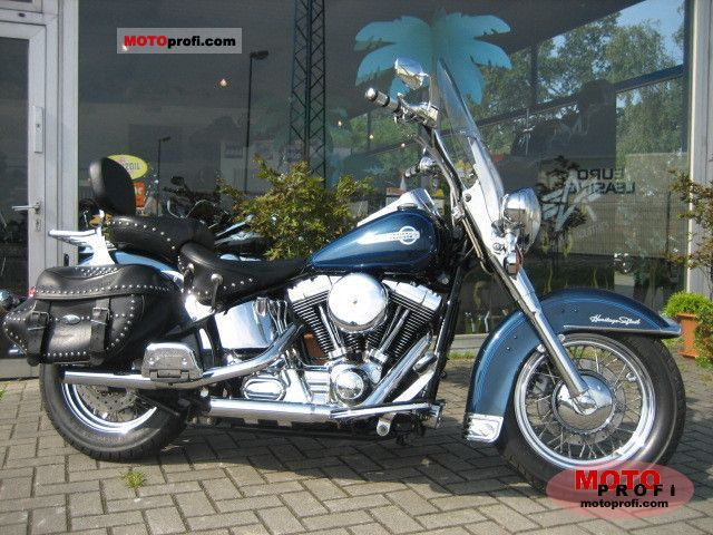 harley davidson flstc heritage softail classic 2002 specs and photos. Black Bedroom Furniture Sets. Home Design Ideas