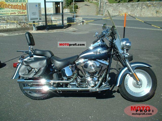 Harley-Davidson FLSTFI Fat Boy 2003 photo
