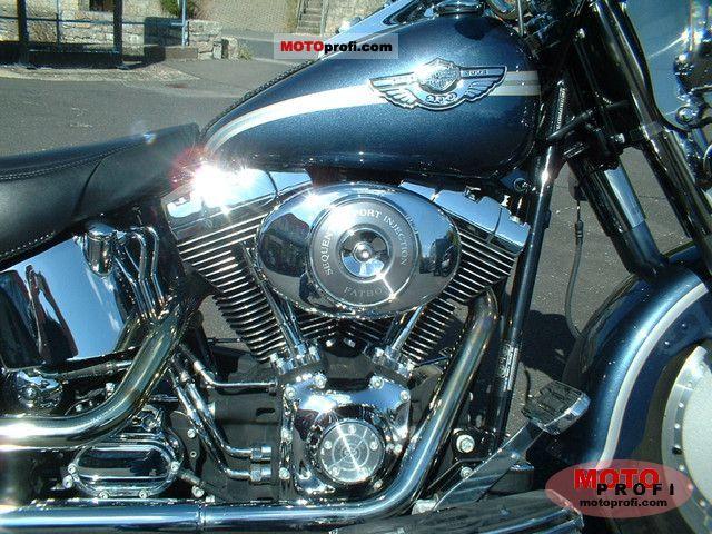 Harley Davidson Flstfi Fat Boy 2003 Specs And Photos