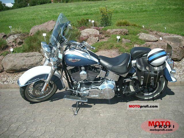 Harley-Davidson FLSTNI Softail Deluxe 2005 photo