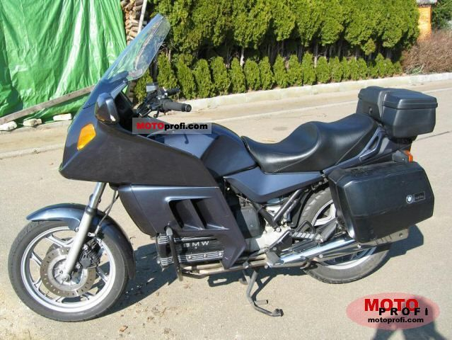 bmw k 100 rt 1986 specs and photos. Black Bedroom Furniture Sets. Home Design Ideas