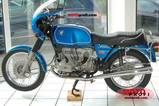 bmw r 60 7 1977 specs and photos. Black Bedroom Furniture Sets. Home Design Ideas