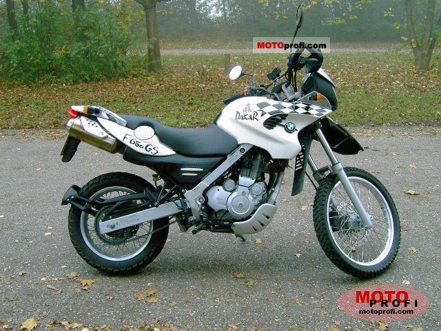 Bmw F 650 Gs Dakar 2001 Specs And Photos