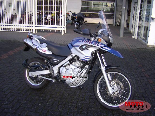 Bmw F 650 Gs Dakar 2005 Specs And Photos