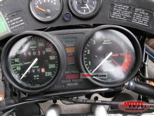bmw r 100 cs 1981 specs and photos. Black Bedroom Furniture Sets. Home Design Ideas