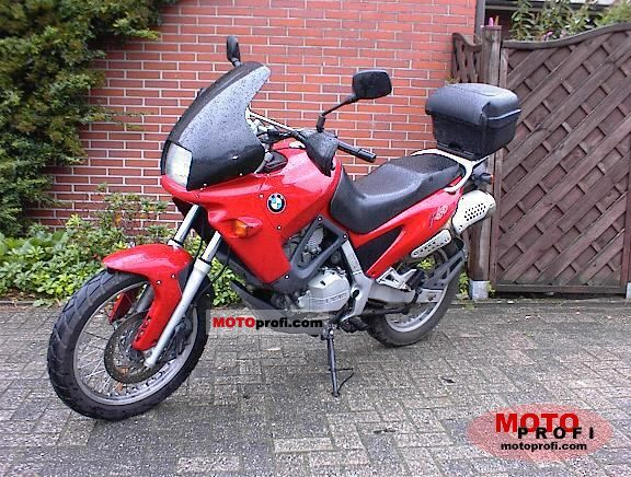 Bmw F 650 1995 Specs And Photos
