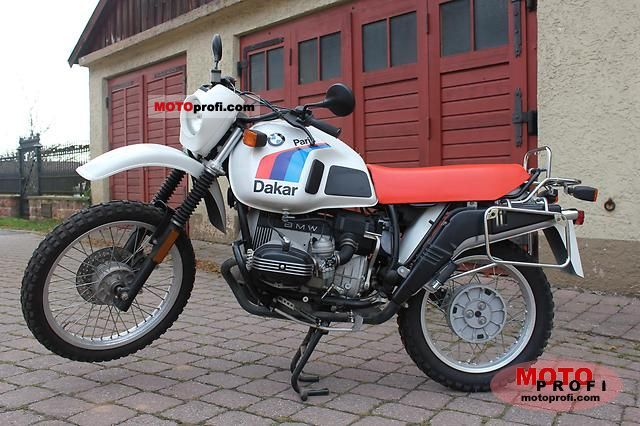 BMW R 80 G/S Paris-Dakar 1987 photo