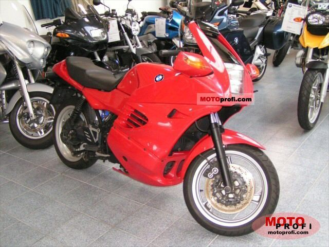 bmw k 1100 rs 1995 specs and photos. Black Bedroom Furniture Sets. Home Design Ideas