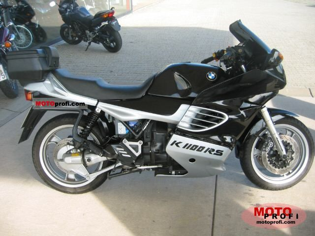 bmw k 1100 rs 1996 specs and photos. Black Bedroom Furniture Sets. Home Design Ideas