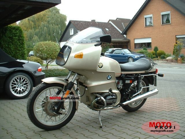 Bmw R 100 Rs 1980 Specs And Photos
