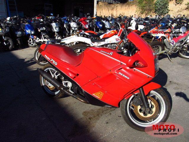 Ducati 750 Paso 1986 photo