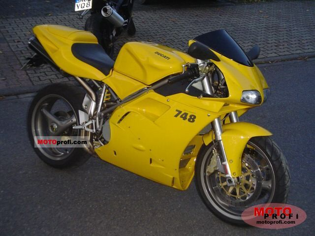 Ducati 748 2... Ducati 748 Specs