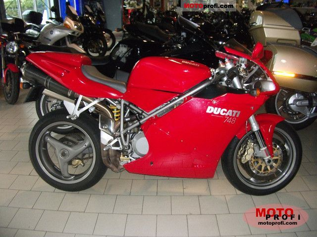 Ducati 748 2... Ducati 748 Specifications