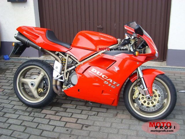 Ducati 916 Biposto 1996 photo