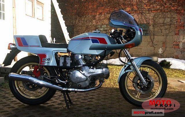 Ducati 500 SL Pantah 1981 photo