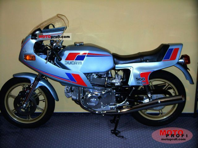 Ducati 500 SL Pantah 1982 Specs and Photos