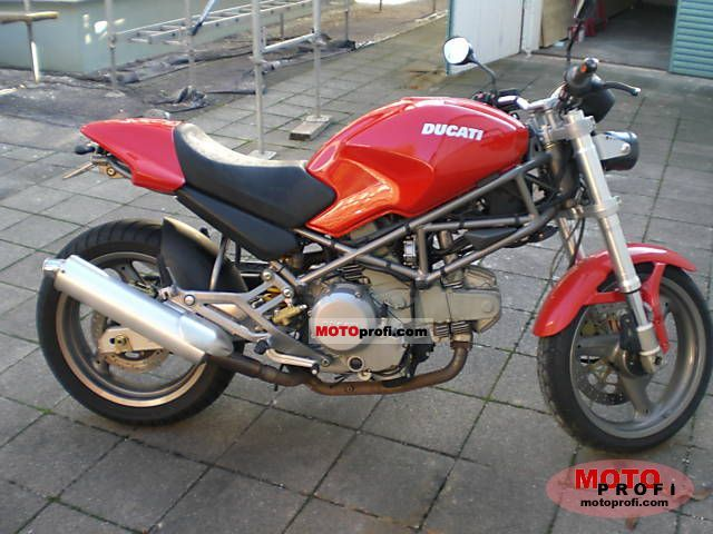 Ducati Monster 600 2002 Specs And Photos
