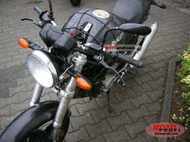 Ducati Monster 620i. Ducati Monster 620 i.e. Dark