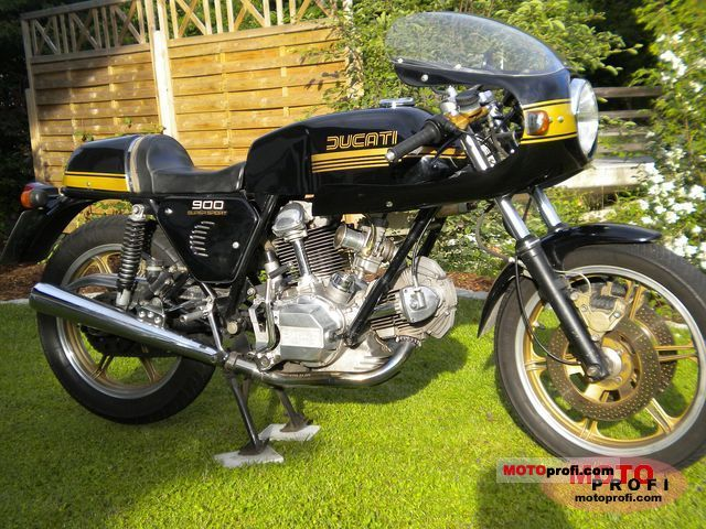 Ducati 900 SS 1981 photo