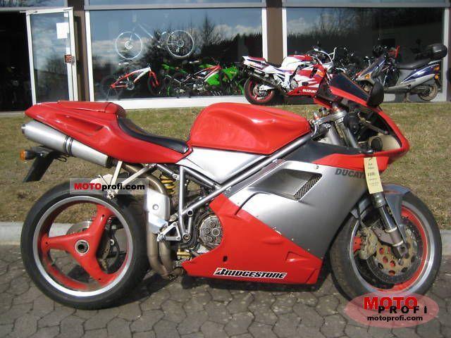 Ducati 748 Biposto 1998 photo