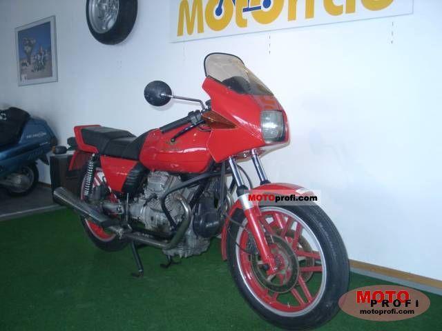 Moto Guzzi V 35 Imola 1982 photo