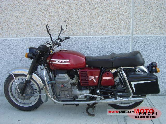 Moto Guzzi V7 850 GT 1974 photo