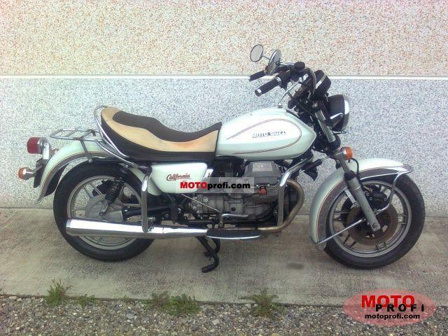 Moto Guzzi V 1000 California II 1984 photo