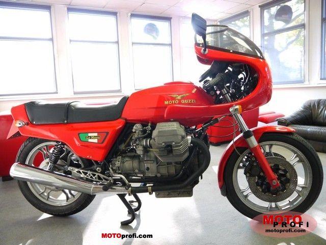Moto Guzzi 850 Le Mans III 1984 photo