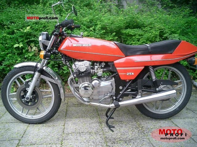 Moto Guzzi 254 1977 photo